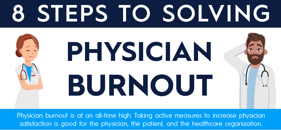 Infographic: 8 Steps to Solving Physician Burnout
