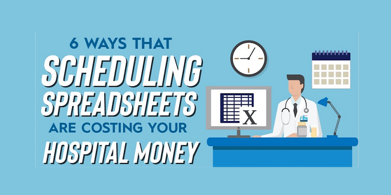 6 Ways that Scheduling Spreadsheets are Costing You Money